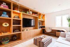 Exterior Design, Interior And Exterior, Home Cinemas, My Dream Home, Home Office, Bookcase, Interior Decorating, New Homes, House Design