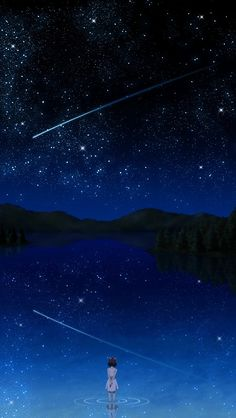 The wonders of mother nature -stars in the milky way overhead on a dark night! Sky Full Of Stars, Star Sky, Mobile Backgrounds, Gurren Laggan, Iphone 5 Wallpaper, Wallpapers Ipad, Kawaii Wallpaper, All Nature, To Infinity And Beyond