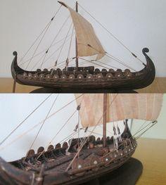 Viking Model Ship, scale 1 : 100. http://atriellme.deviantart.com/art/Viking-Ship-456268443?purchase=print&itemids=185