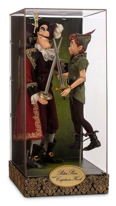 Peter Pan and Captain Hook Disney Fairytale Designer Collection Disney Store Exclusive Dolls, 2015 (I have this set.)