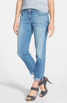 Eileen Fisher Organic Cotton Boyfriend Jeans (Regular & Petite) (Online Only) available at #Nordstrom