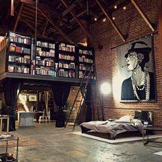 Omg heaven...downtown loft dreams!!!!!