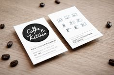 moodley brand identity - coffee & kitchen  http://www.moodley.at/en/portfolio/branding/coffee-kitchen.html