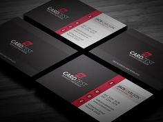 201 best free business card templates images on pinterest free clean diagonal lines corporate business card template fbccfo Gallery