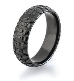 All Black Tread Ring