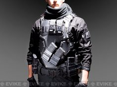 hmmm. Too bad its airsoft armor and not IIIA body armor.  Might be cool for sim training.