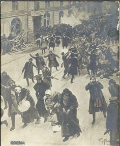 A series of pogroms against Jews in the city of Odessa, took place during the 19th and early 20th centuries.