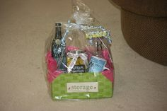 Gift Baskets are totally my thing