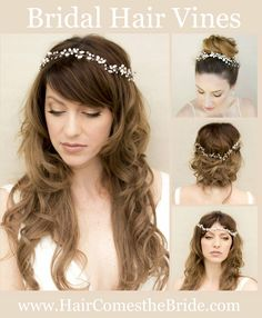 Bridal Wedding Hair Vines by Hair Comes the Bride - Quick Shipping