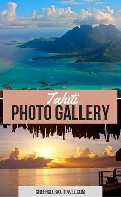 Here are 20 Tahiti photos to fuel your exotic island fantasies! | Moorea | Bora Bora | Water Lilies | Bali Hai Mountain |