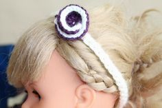 A Cute and Simple Headband for Infants (Crochet Pattern)