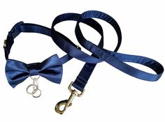 Hey, I found this really awesome Etsy listing at https://www.etsy.com/au/listing/238426943/navy-blue-satin-ring-bearer-wedding-dog