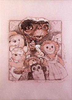 E.T. - Drew Struzan