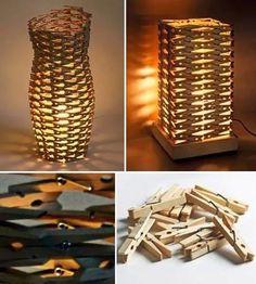 Lamp van knijpers