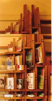 retail design co :: RECYCLE Shelf art installation by Larry Weston