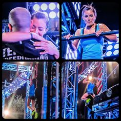 Kacy Catanzaro is the first woman to complete the ANW finals course!! What a beast!