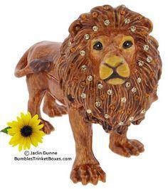 Trinket Box: Standing LionTrinket Box