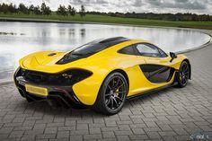 McLaren P1 performance figures announced