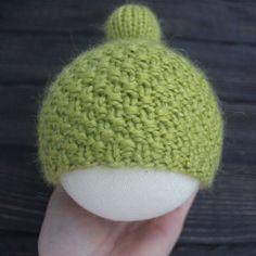 Часть 1 - Вязание шапочки с помпоном на объем 31 см
