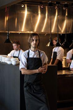 Fredrik Berselius in the new location of his restaurant Aska, in Williamsburg, Brooklyn. (Photo: Bryan Thomas for The New York Times)