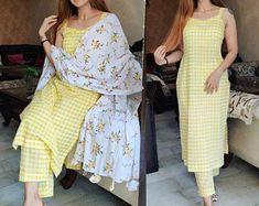 Casual Indian Fashion, Indian Fashion Dresses, Indian Outfits, Western Outfits, Women's Fashion, Simple Kurta Designs, Kurta Designs Women, Salwar Designs, Indian Dresses For Women