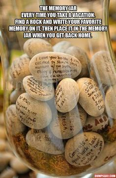 My boyf & I collect rocks on trips- this is perfect'!!