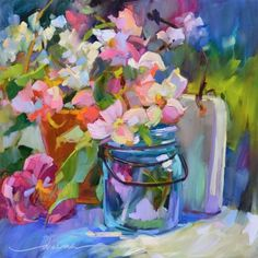 drema tolle   More by Dreama Tolle Perry   More Floral Paintings For Sale