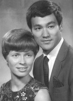 Bruce with his wife Linda