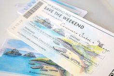 Event Ticket, Wedding Blog, Marriage Invitation Card, Beach Stencils, Wedding On The Beach, Dream Wedding, Engagement, Invitations, Creative