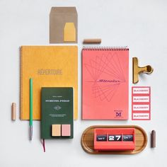 Spotlight on: Present & Correct, the much-loved shop for new and vintage stationery School Stationery, Stationery Shop, Stationery Paper, Personalized Stationery, Stationary Gifts, Stationary Design, Tampons, Greeting Cards Handmade, Paper Goods