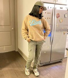 Swag Outfits For Girls, Cute Swag Outfits, Chill Outfits, Dope Outfits, Teen Fashion Outfits, Trendy Outfits, Teenager Outfits, Girly Outfits, Modest Outfits