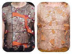 Map-wear y'all:) by Virginia Burlina (?) http://ift.tt/293c9hd