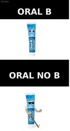 Dos tipos de pasta de dientes, je, je, je.