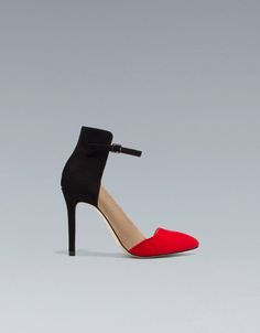 ZARA - VAMP SHOE WITH HEEL BACK AND HIGH HEEL - $80.00