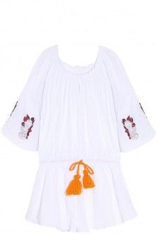 off-shoulder romper by SENSI STUDIO. Available in-store and on Boutique1.com