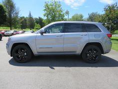 2014 Jeep Grand Cherokee Altitude in Billet Silver