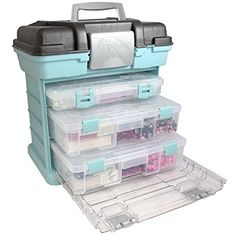 NO MORE MESS! 🦄 Creative Organizer for ALL your Crafty Accessories! Perfect for sewing, crafting, beading, sewing or scrapbooking! #sewing #sewingmachine #sewingtips #fashion #style #arts #crafts #hobby #gifts #amazon #amazondeals