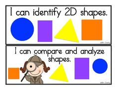 Common Core Math Standards: I Can Statements for Kindergarten