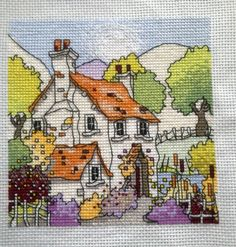 Stunning design cross stitched by KraftyKelly - pattern by Michael Powell Designs, as spotted on craftbubble.com