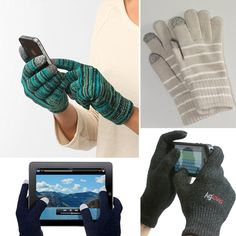 texting gloves... Hayley we need these!