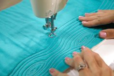 I'm guest-posting over at Sew Mama Sew today, talking about free-motion quilting feet for domestic sewing machines. Much like with piecing ...