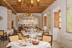 Breakfast Room of Can Estades hotel Mallorca.