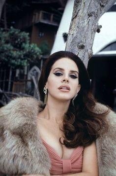 Lana Del Rey shot by Francesco Carrozini Honeymoon era