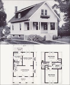 1923 Standard Homes Company Plans - The Hazelwood