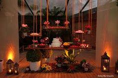 Mesa de doce e bolo de casamento  Praia da Tartaruga - RJ - Brasil