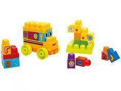 Mega Bloks First Blocks Ônibus 44 Peças - Mattel com as melhores condições você encontra no Magazine Lojaslui. Confira!