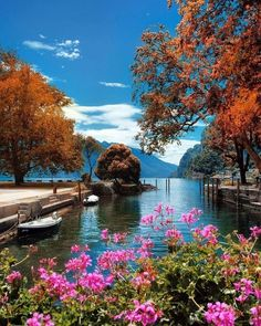 Beautiful World, Beautiful Images, Nature Pictures, Cool Pictures, Travel Pictures, Nature Landscape, Theme Nature, Autumn Scenery, Photos Voyages