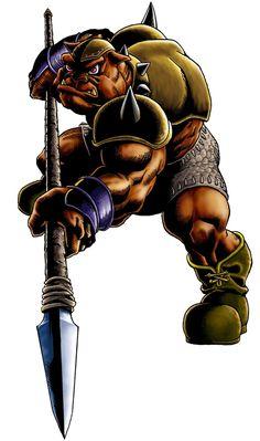 Spear Moblin - The Legend of Zelda: Ocarina of Time 3D