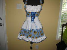 Octoberfest apron by byemilyrose on Etsy, $85.00
