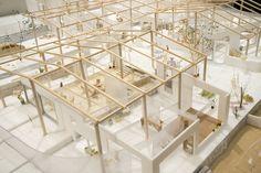 第39回レモン展受賞作品【個人賞】 – レモン画翠 Emergency House, Co Housing, Urban Design Diagram, 3d Modelle, Arch Model, Coffee Shop Design, Design Competitions, Flat Roof, Wood Construction
